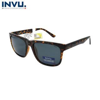 Kính mát nữ, kính mát unisex hiệu INVU chính hãng B2917 C (56-19-140) Đồi mồi - B2917 C thumbnail