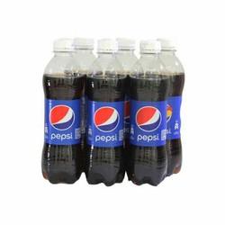 Lốc 6 chai nước ngọt Pepsi 390ml