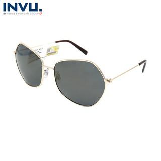 Kính mát nữ, kính mát unisex hiệu INVU chính hãng T1002 (59-17-145) nhiều màu - T1002 thumbnail