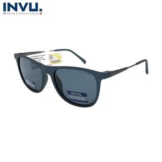 Kính mát nữ, kính mát unisex hiệu INVU chính hãng B2020 C (53-17-145) - B2020 C thumbnail