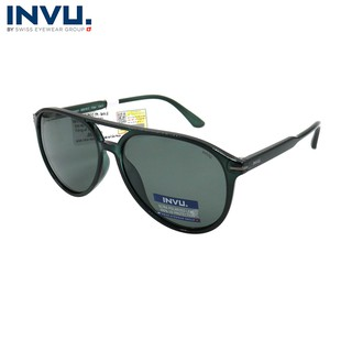 Kính mát nữ, kính mát unisex hiệu INVU chính hãng B2018 C (57-14-145) - B2018 C thumbnail