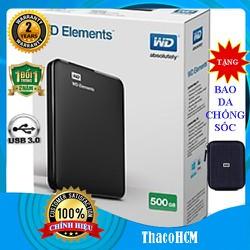 Ổ cứng di động  500GB Western Digital Elements - ổ cứng di động nhập khẩu