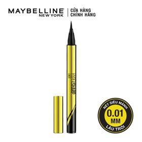Bút kẻ mắt nước siêu sắc mảnh không lem không trôi Maybelline New York HyperSharp Liner Đen 0.5g - 6902395273257