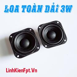 Loa Toàn Dải 3W 4ohm - Combo 2 Loa