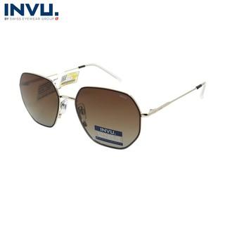 Kính mát nữ, kính mát unisex hiệu INVU chính hãng P1007 (57-17-145) nhiều màu - P1007 thumbnail