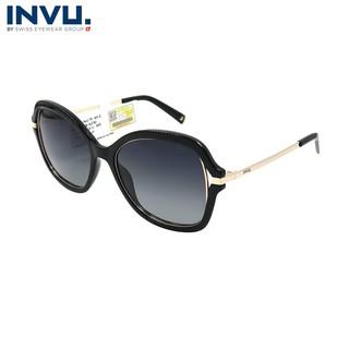 Kính mát nữ, kính mát unisex hiệu INVU chính hãng B2008 (54-17-140) - B2008 thumbnail