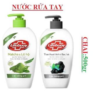 Nước rửa tay lifebuoy tinh chất thiên nhiên (500g) - 013 thumbnail