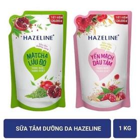 Sữa tắm dưỡng da Hazeline 1kg ( túi ) - sthazeline1kg