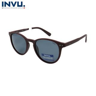 Kính mát nữ, kính mát unisex hiệu INVU chính hãng B2832 (49-21-140) - B2832 thumbnail