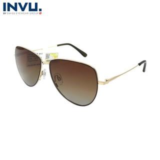Kính mát nữ, kính mát unisex hiệu INVU chính hãng P1000 (57-12-145) nhiều màu - P1000 thumbnail