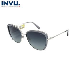 Kính mát nữ, kính mát unisex hiệu INVU chính hãng B1913 (56-15-139) - B1913 thumbnail