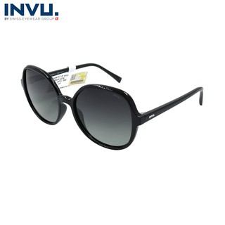 Kính mát nữ, kính mát unisex hiệu INVU chính hãng B2035 (55-17-140) - B2035 thumbnail