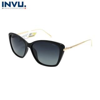 Kính mát nữ, kính mát unisex hiệu INVU chính hãng B2017 (57-14-140) - B2017 thumbnail
