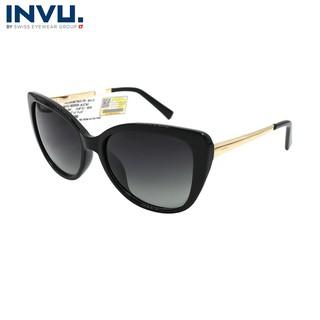 Kính mát nữ, kính mát unisex hiệu INVU chính hãng B2005 (56-17-145) - B2005 thumbnail