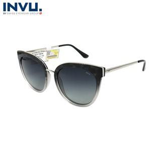 Kính mát nữ, kính mát unisex hiệu INVU chính hãng B1917 B (54-19-148) - B1917 B thumbnail