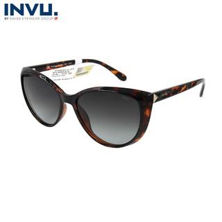 Kính mát nữ, kính mát unisex hiệu INVU chính hãng B2028 (57-16-148) - B2028 thumbnail