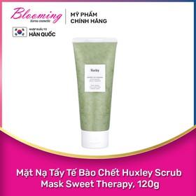 Mặt Nạ Tẩy Tế Bào Chết Huxley Scrub Mask Sweet Therapy, 120ml - 8809422532135