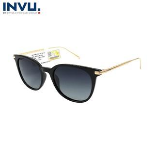 Kính mát nữ, kính mát unisex hiệu INVU chính hãng B2016 (52-19-140) - B2016 thumbnail