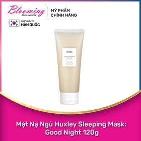 Mặt nạ ngủ dưỡng ẩm phục hồi da Huxley Sleep Mask Good Night 120g - 8809422532159