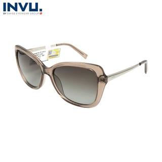 Kính mát nữ, kính mát unisex hiệu INVU chính hãng B2006 (56-17-145) - B2006 thumbnail