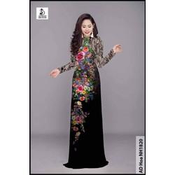 Sale 2 mẫu áo dài lụa tơ Nhật co giãn chỉ 163 k 1 áo may sẵn