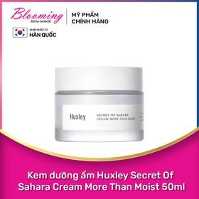 Kem Dưỡng Ẩm Da Chuyên Sâu Huxley Cream More Than Moist 50ml - 8809422531367