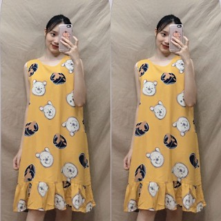 váy bầu-đầm bầu lanh - vay2w thumbnail