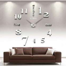 Đồng hồ dán tường 3d (loại lớn)