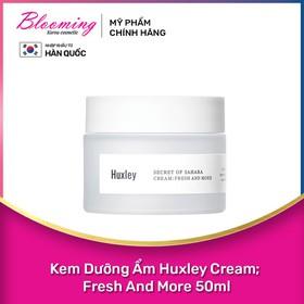 Kem Dưỡng Ẩm Chiết Xuất Xương Rồng Huxley Cream Fresh And More 50ml - 8809422531756
