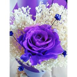 Hoa hồng ướp bất tử bông -5CM
