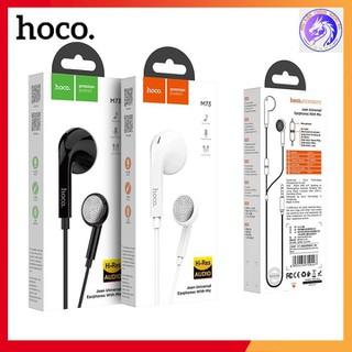 Tai Nghe Nhựa TPE Jack 3.5MM Có Mic Hoco M73 Dài 1.2M - M73 thumbnail