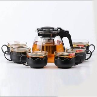 Bộ bình lọc trà sang trọng kèm 4 ly - Bình lọc trà sang trọng thumbnail