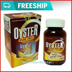 Hàu Biển Oyster Plus Zinc - tăng cường sinh lý phái mạnh- Lọ 30 viên