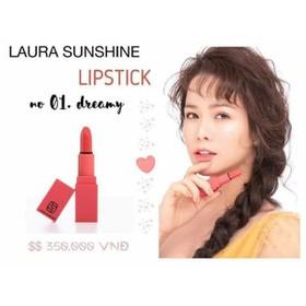 son môi Laura Shushine màu hồng đào - 863