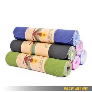 Thảm tập yoga TPE 2 lớp - Thảm tập yoga TPE 2 lớp thumbnail