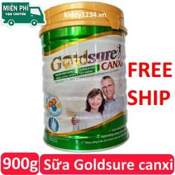 Sữa Goldsure canxi NC 900g ngừa loãng xương tiểu đường cho người trên 40 tuổi (date mới)