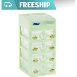 [ FREE SHIP ] Tủ nhựa Duy Tân Tomi Mini 5 tầng