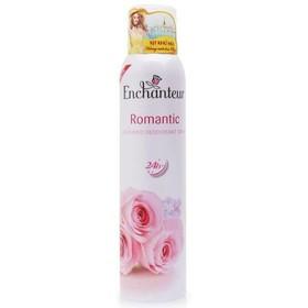 Xịt khử mùi Enchanteur Romantic chai 150ml - ZTHNFG
