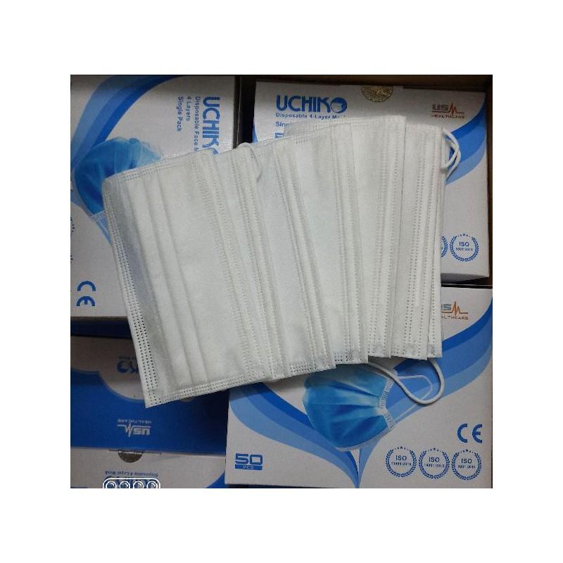 Khẩu trang y tế – 4 lớp – vải không dệt – USM01