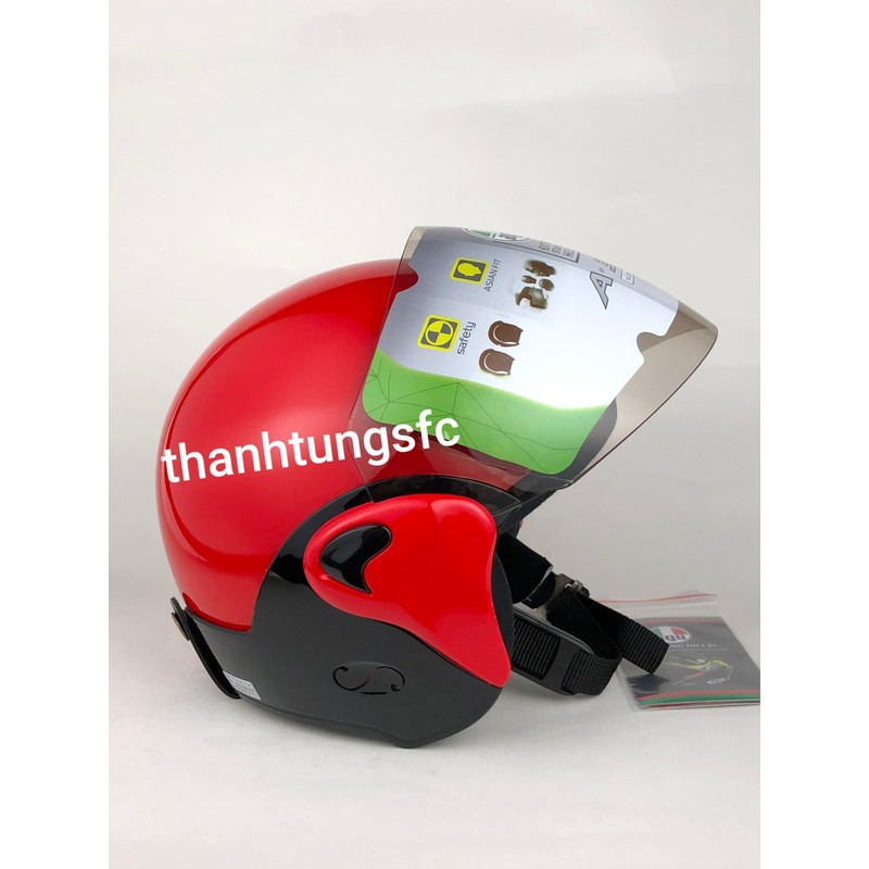 nón bảo hiểm 3/4 AGU A35k mẫu mới siêu bền siêu chắc chắn bảo hành 12 tháng – nón bảo hiểm agu