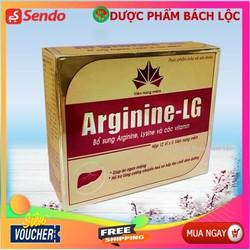 Arginine-LG HỖ TRỢ CẢI THIỆN CHỨC NĂNG GAN, ĂN UỐNG KÉM ( Hộp 60 viên nang mềm )