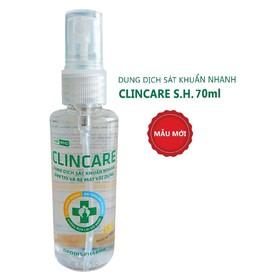 Rửa tay nhanh Clincare SH 70ml - ClincareSH