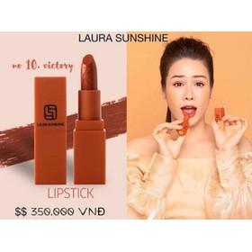 son môi Laura Shushine màu nâu đất - 6327