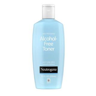 Nước hoa hồng làm sạch và phục hồi da, không gây mụn, hấp thụ nhanh Neutrogena Oil- and Alcohol-Free Facial Toner, Hypoallergenic Skin Purifying Face Toner, 250mL-8,5 fl. Oz - NOAFTHKPFT thumbnail