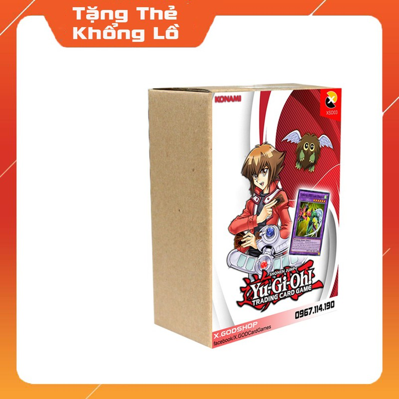 XSD04 Hộp thẻ bài Jaden Yuki HERO – Yugioh – XSD04