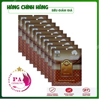 [Hàng Nhập Khẩu Hàn Quốc] Combo 10 Túi Mặt nạ dưỡng da - Mặt nạ giấy chiết xuất nhau thai cừu 3W Clinic Hàn Quốc 23mlx10 - MNDDNTC3W01 thumbnail