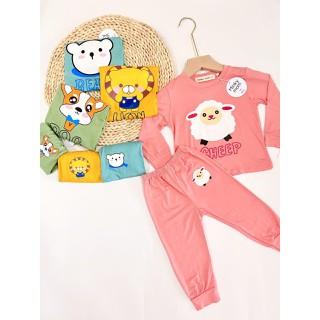 Bộ Minky Mom Chất Thun Lạnh (Cừu-Gấu-...) Cho Bé Trai và Bé Gái - MK0021 thumbnail