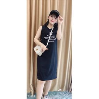 váy bầu - đầm bầu thời trang xuông a cottong - vay1za thumbnail