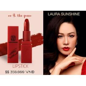 son môi Laura Shushine màu đỏ gạch - 4317