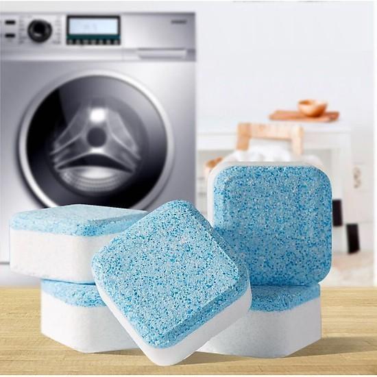 Viên tẩy lồng máy giặt - Combo 24 viên - Tẩy lồng máy giặt